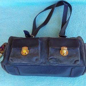 MAXX New York genuine leather shoulder bag